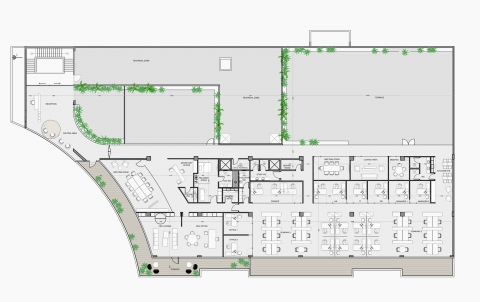 Al Salem partnership office-Plan