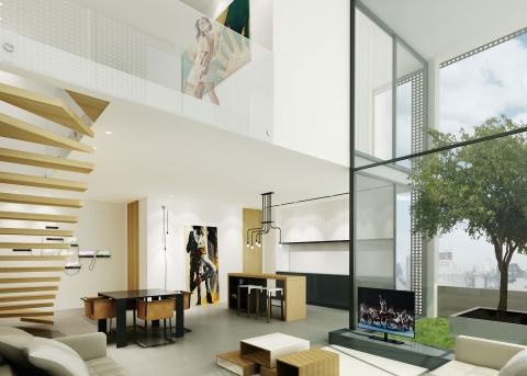 Allée Des Arts by ADG interiors - Duplex
