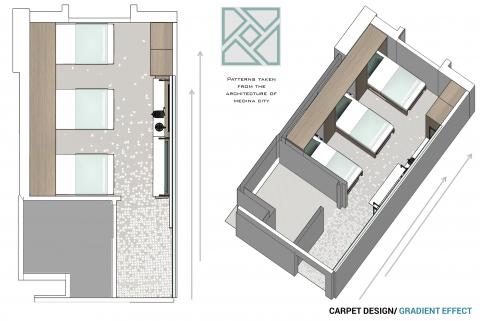 Otencia 2 Hotel by Accent DG - Carpet Design