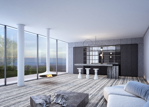 Villa in Adma by AccentDG - Living Room